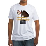 Carrion Luggage Fitted T-Shirt
