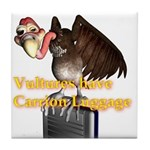 Carrion Luggage Tile Coaster