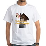 Carrion Luggage White T-Shirt