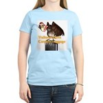 Carrion Luggage Women's Pink T-Shirt