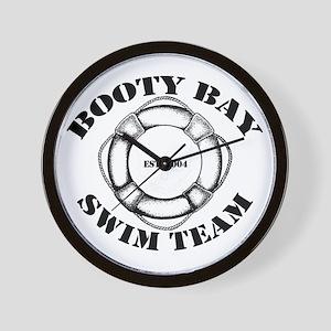 Booty Bay Swim Team Wall Clock