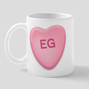 EG Candy Heart Mug