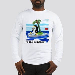 Penguin Dive Bar Long Sleeve T-Shirt