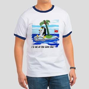 Penguin Dive Bar Ringer T