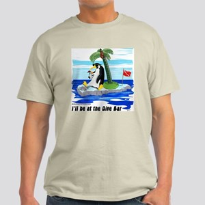 Penguin Dive Bar Light T-Shirt