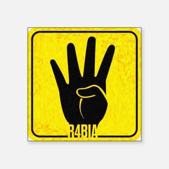 """rabia Square Sticker 3"""" x 3"""""""