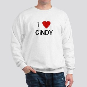 I Heart CINDY (Vintage) Sweatshirt