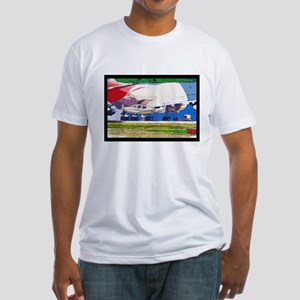 Big and Small Fitted T-Shirt