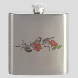 Quince Birds Flask