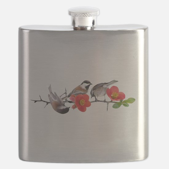 Quince Birds Flask