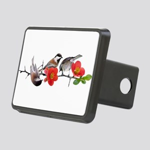 Quince Birds Rectangular Hitch Cover