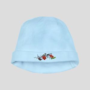 Quince Birds baby hat