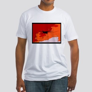 Evening Departure Fitted T-Shirt