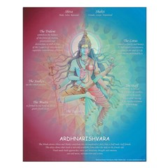 Ardhnarishvara Teaching Poster