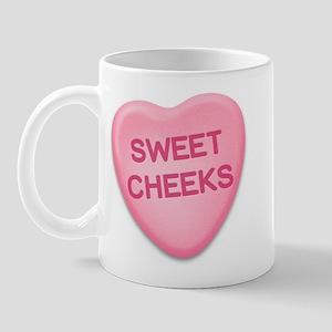Sweet Cheeks Candy Heart Mug