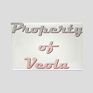 Property Of Veola Female Magnets