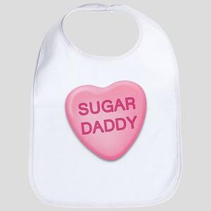 Sugar Daddy Candy Heart Bib