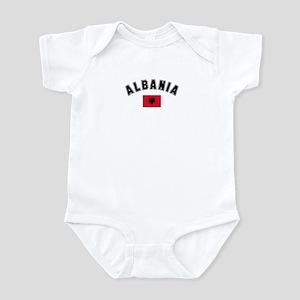 Albania Flag Infant Bodysuit