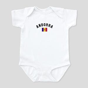 Andorra Flag Infant Bodysuit