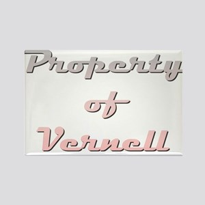 Property Of Vernell Female Magnets