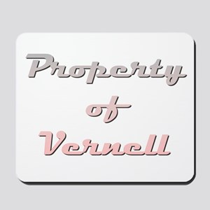 Property Of Vernell Female Mousepad