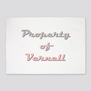 Property Of Vernell Female 5'x7'Area Rug