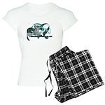 TN Leopard Ribbon Heart Pajamas
