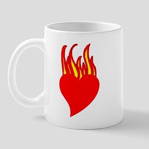Fire Heart Mug