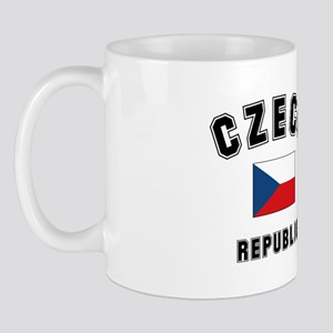 Czech Republic Flag Mug