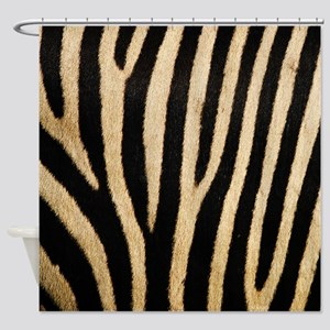 Zebra! Shower Curtain