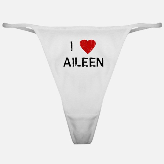 I Heart AILEEN (Vintage) Classic Thong
