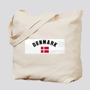 Denmark Flag Tote Bag