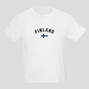 Finland Flag Kids T-Shirt