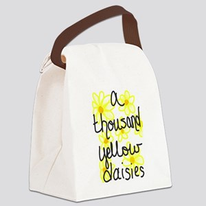 Yellow daisies Canvas Lunch Bag