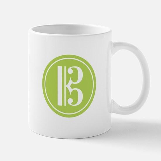 Alto Clef Green Mug