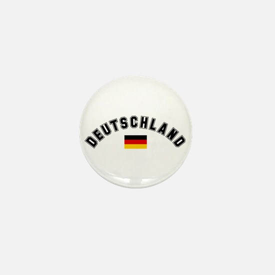 Deutschland Flag Mini Button