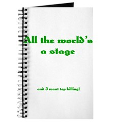 World's a Stage Journal