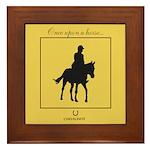Horse Theme Custom Framed Tile #3010