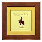 Horse Theme Custom Framed Tile #3000