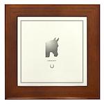 Horse Theme Custom Framed Tile #3016