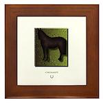 Horse Theme Custom Framed Tile #3019