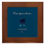 Horse Theme Custom Framed Tile #3012