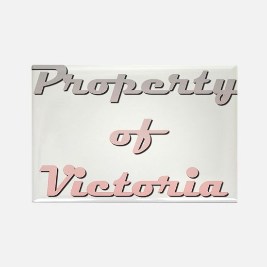 Property Of Victoria Female Magnets