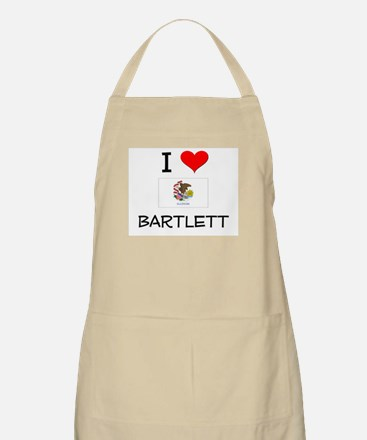 I Love BARTLETT Illinois Apron