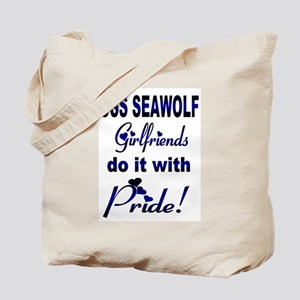 uss seawolf girlfriends Tote Bag