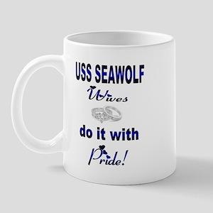 uss seawolf wives Mug