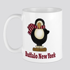 Penguin Buffalo New York Mug
