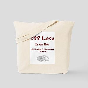 my love cvn 69 Tote Bag
