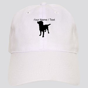 Custom Dog Silhouette Baseball Cap