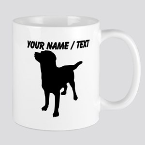 Custom Dog Silhouette Mugs